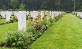 下落的加拿大战士坟墓  图库摄影