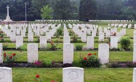 下落的加拿大战士坟墓  库存照片