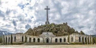 下落的谷(瓦尔de los Caidos),马德里,西班牙 库存图片
