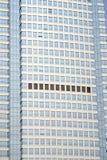 下蓝色现代办公室天空 免版税库存图片
