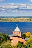 下诺夫哥罗德克里姆林宫,俄罗斯 免版税图库摄影