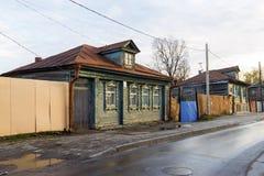 下诺夫哥罗德,俄罗斯- 11月04 2015年 老 免版税库存照片