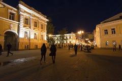 下诺夫哥罗德,俄罗斯-04 11 2015年 Bolshaya 免版税库存图片