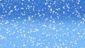 下跌的雪动画 皇族释放例证