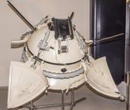 下降模块自动星辰间的驻地 免版税图库摄影