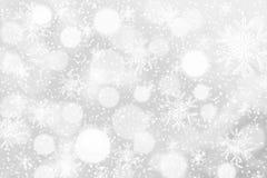 8下降eps文件包括的雪花星形的背景 免版税图库摄影