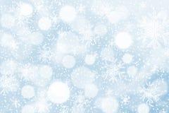 8下降eps文件包括的雪花星形的背景 免版税库存照片