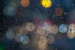 下雨下落 库存图片