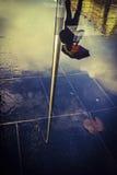 下雨在都伯林 图库摄影