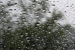 下雨的挡风玻璃 库存图片