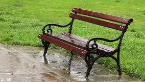 下雨长凳 股票录像