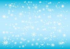 下雪下 免版税库存照片
