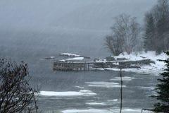 下雪 免版税图库摄影