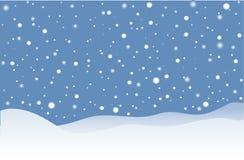 下雪 免版税库存图片