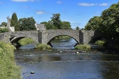 下面的桥梁在Kendal 免版税库存图片