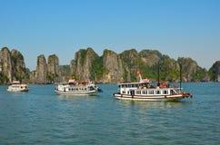 下龙湾,越南2016年11月 免版税图库摄影