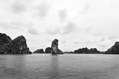 下龙湾 免版税图库摄影