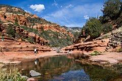 下滑岩石国家公园 免版税库存照片