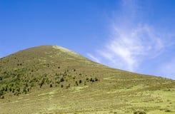 下10座山天空 库存图片