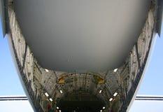 下17个航空器腹部c军人 库存图片