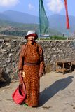 不丹的生活方式 图库摄影