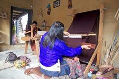 不丹的纺织品 免版税库存图片