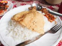 不丹的食物 免版税库存图片