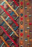 从不丹的织品 免版税库存图片