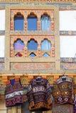 不丹的建筑学 免版税图库摄影
