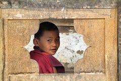 不丹,蒙加尔 图库摄影