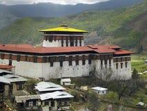 不丹- Paro Dzong 库存图片