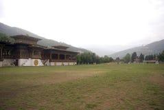不丹changlimithang体育场廷布 库存图片