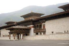 不丹changlimithang体育场廷布 免版税图库摄影