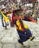 不丹paro tsechu 免版税库存照片