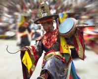 不丹paro tsechu 库存照片