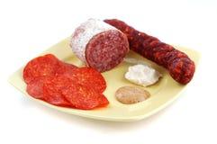 不健康肥胖的食物 免版税库存图片