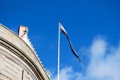 不列塔尼旗子  库存图片
