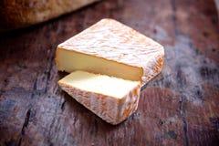 不列塔尼样式乳酪 库存照片