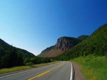 不列塔尼的海角高速公路 库存图片