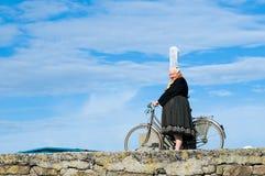 不列塔尼的头饰妇女 免版税库存图片