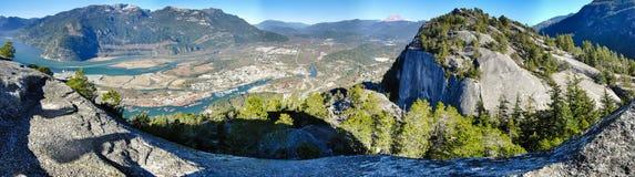 不列颠哥伦比亚省山景城3 免版税库存图片