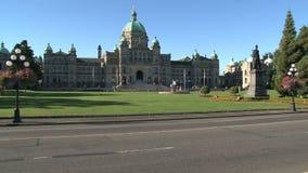 不列颠哥伦比亚省议会大厦,加拿大 影视素材