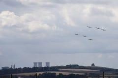 不列颠战役纪念空中分列式 库存照片