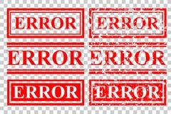 不加考虑表赞同的人:在透明作用背景的错误 库存例证
