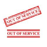 不加考虑表赞同的人-在服务范围外- 02A 库存例证
