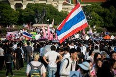 不受惩罚比尔抗议在泰国 库存图片