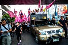 不受惩罚比尔抗议在泰国 免版税库存照片