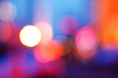 不可思议的光斑背景 免版税库存图片