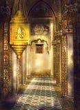 不可思议的印度走廊 免版税库存照片