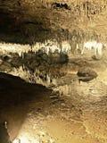 不可思议的地下洞 库存图片